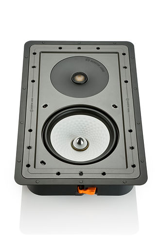 Monitor Audio Controlled Performance speakers, Monitor Audio CP-WT380 in-wall speaker, custom install speakers, discreet speakers, the little audio company,