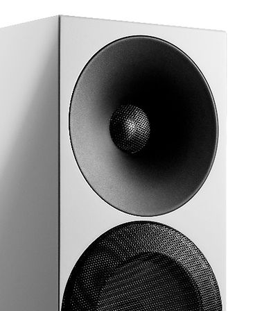 HF waveguide of the Amphion Argon 1 loudspeakers,