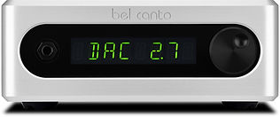 clik here for the Bel Canto DAC2.7 DAC / pre-amplifier,