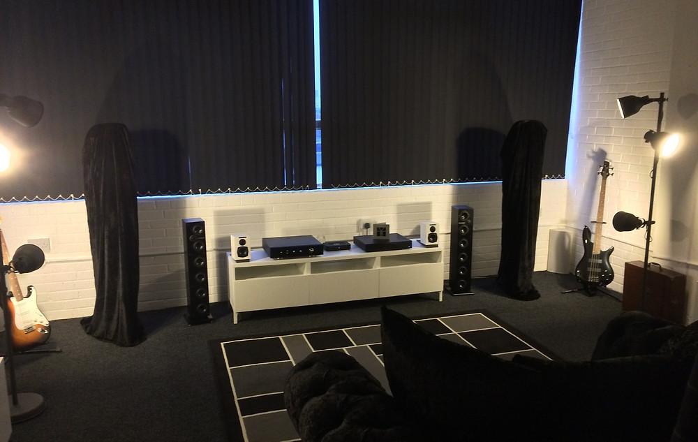 the little audio company showroom in Birmingham