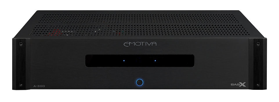 Emotiva A-300 2-channel stereo power amplifier, the little audio company,