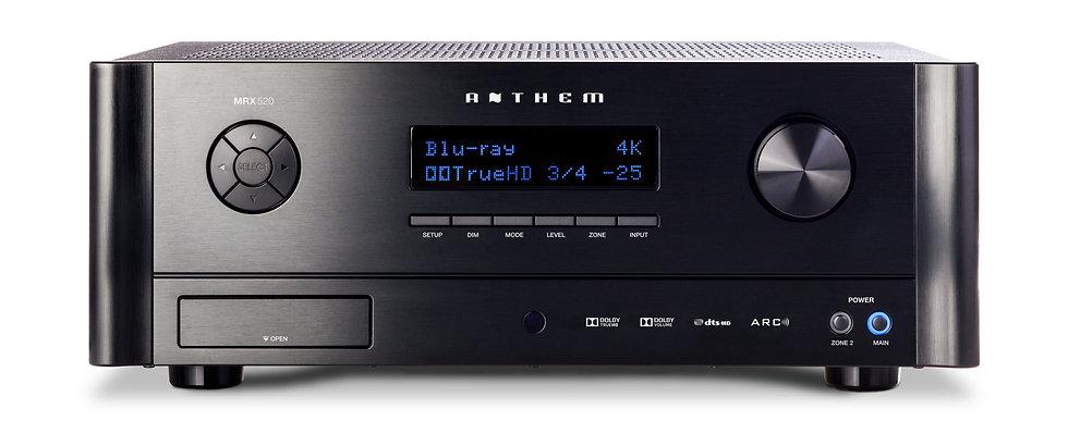 Anthem MRX-520 AV receiver, Anthem AV receiver, Anthem in Birmingham,