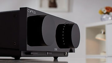 Cyrus hifi amplifiers at the little audio company,