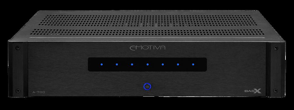 Emotiva A-700 home theatre power amplifier, the little audio company,