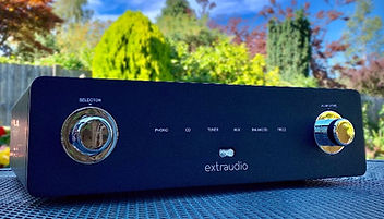 Extraudio hifi amplifiers at the little audio company,