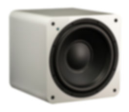 SVS SB1000 subwoofer in gloss white,