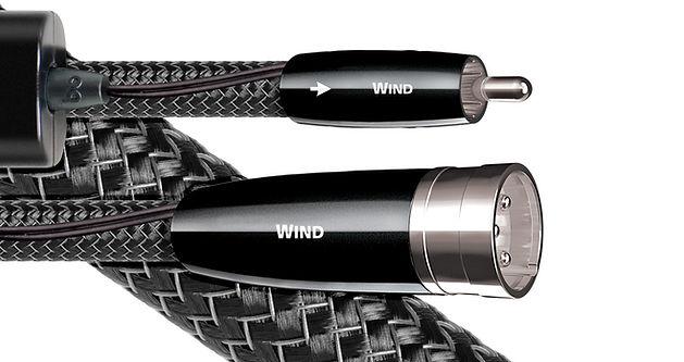 audioquest wind, audioquest cables,