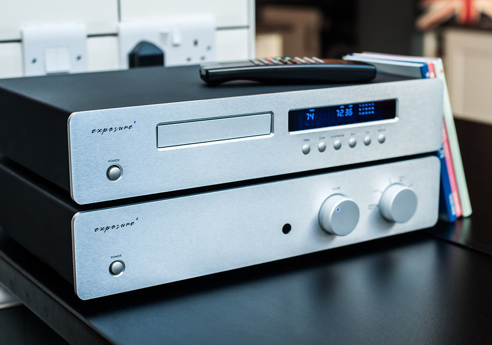 exposure 2510 stereo amplifier