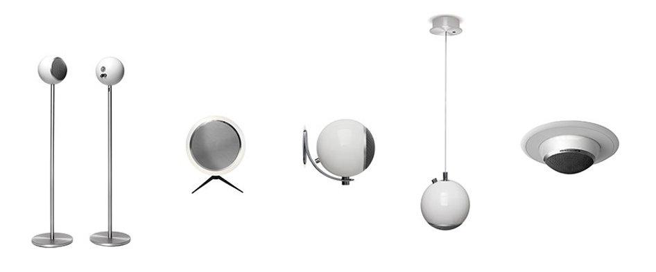 Elipson Planet speakers, Planet M, Planet L, Planet Sub, audio affair, the little audio company,