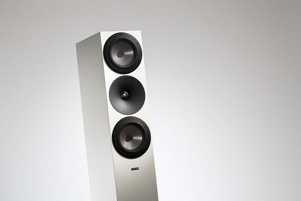 Amphion Argon 7LS speaker at the little audio company,
