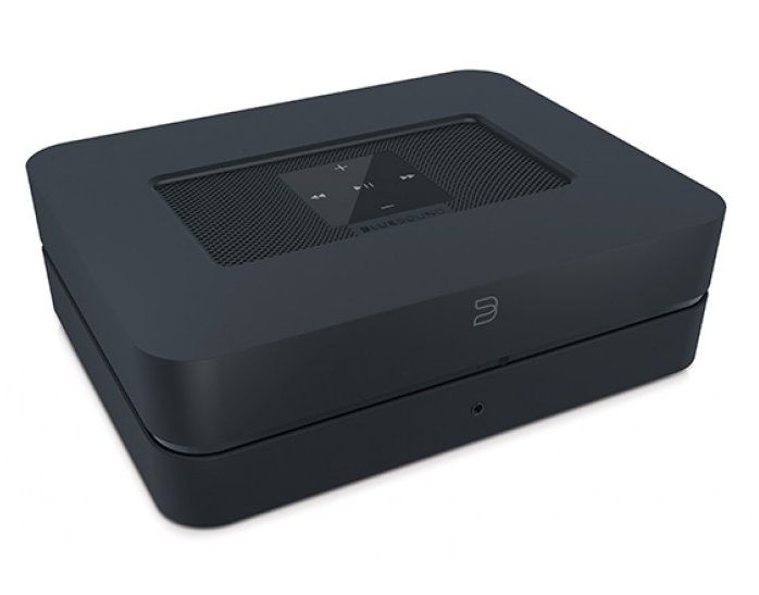 Bluesound PowerNode 2i streaming amplifier at the little audio company,