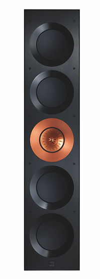 front view of the KEF Ci5160 Reference THX in-wall speaker, the little audio company,