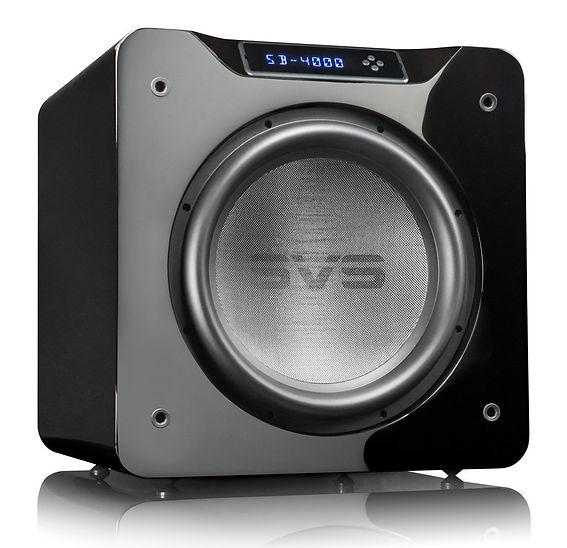 SVS SB4000 Ultra home cinema subwoofer in Gloss Black,