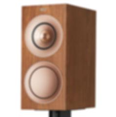 KEF R3 loudspeakers in walnut, KEF R Series in Birmingham, KEF in Birmingham, KEF in the Midlands, KEF at the little audio company in Birmingham,