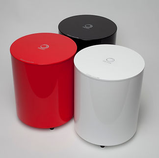 Elipson Planet subwoofer, home theatre subwoofer, hifi subwoofer, Elipson subwoofer, round subwoofer, active subwoofer, the little audio company,