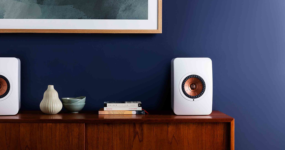 KEF LS50 Wireless loudspeakers