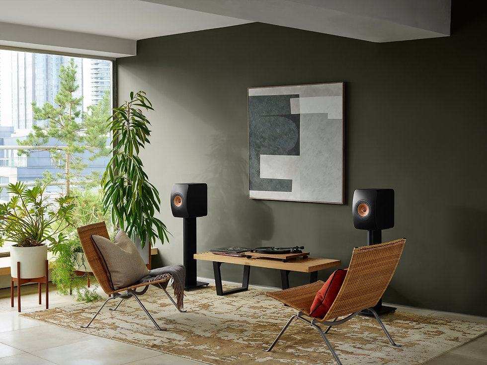 KEF LS50 Wireless 2 in carbon black