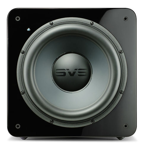 SVS SB3000 home theatre subwoofer in gloss black,