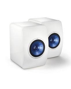 KEF LS50 speakers, bookshelf speakers, compact speakers, UniQ array, KEF LS50 loudspeakers, hi fi loudspeakers, the little audio company, KEF loudspeakers, KEF speakers, KEF in birmingham,