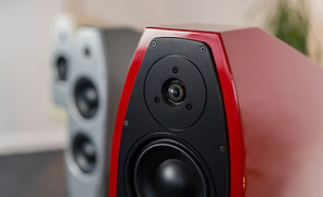 Eggleston Works loudspeakers at the little audio company,