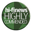HiFi News highly recommended award,