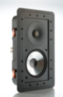 Monitor Audio Controlled Performance speakers, Monitor Audio CP-WT260 in-wall speaker, custom install speakers, discreet speakers, the little audio company,