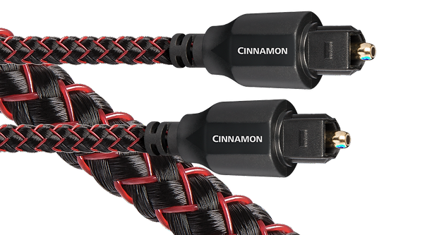 audioquest cinnamon optical cable, toslink cable, the little audio company,