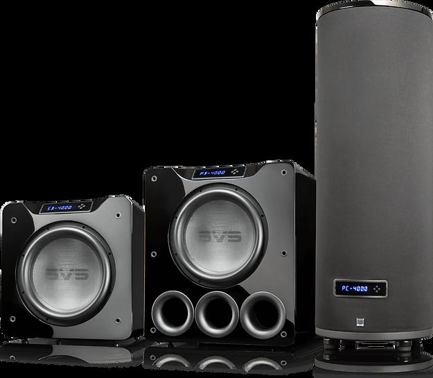 SVS 4000 series subwoofers, SVS SB4000, SVS PB4000, SVS PC4000, the little audio company,