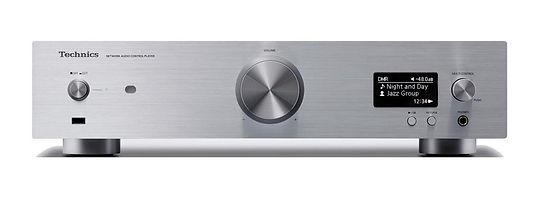 Technics SU-G30 streaming amplifier in silver,
