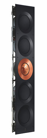 angled view of the KEF Ci5160 Reference THX in-wall speaker, the little audio company,