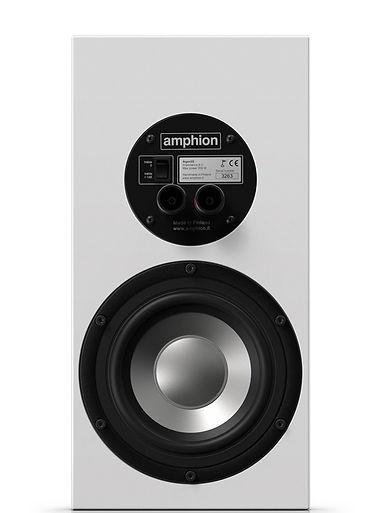 rear panel of the Amphion Argon 3S speakers,