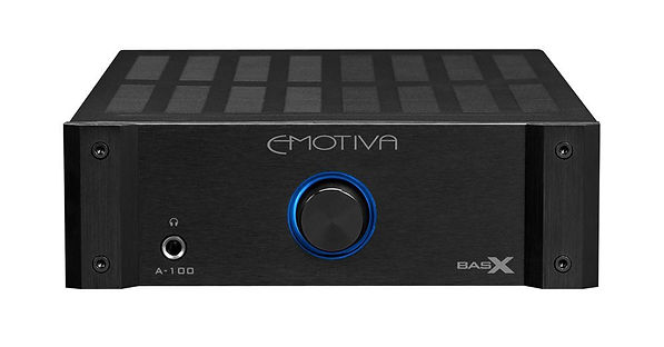 click here for the Emotiva A-100 integrated amplifier, the little audio company,