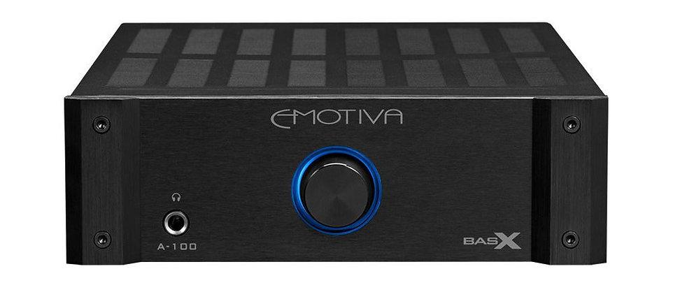 Emotiva A-100 integrated amplifier, the little audio company,