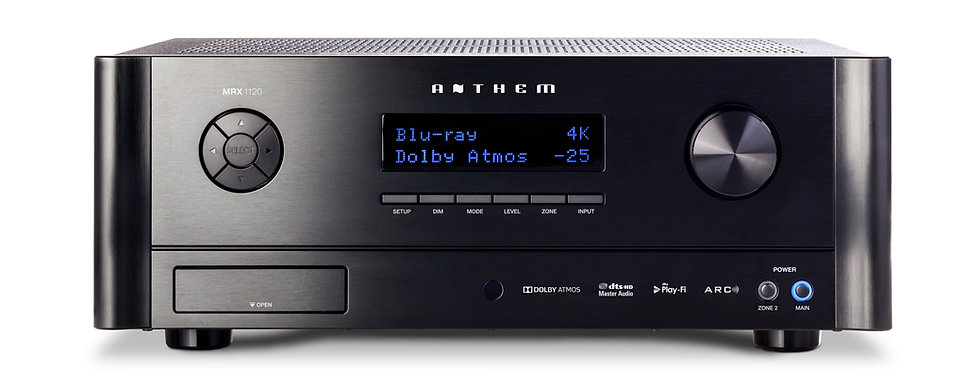 Anthem MRX-1120 AV receiver, Anthem MRX1120 home theatre receiver,