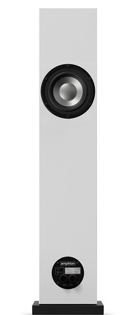 Amphion Argon 3LS loudspeaker, the little audio company, passive radiator,