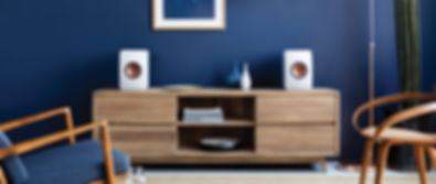 KEF LS50 wireless loudspeakers, active LS50, Bluetooth speakers, TIDAL MQA, Spotify, the little audio company, KEF LS50 Wireless in Birmingham, KEF in Birmingham,