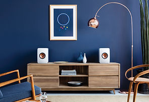 KEF LS50 loudspeaker range at the little audio company,