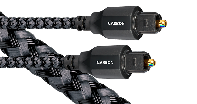 audioquest carbon optical cable, toslink cable, the little audio company,