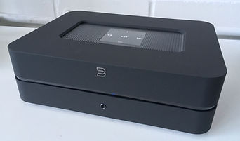 Bluesound digital hifi amplifiers at the little audio company,
