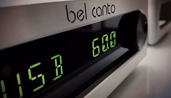 Bel Canto integrated amplifier,