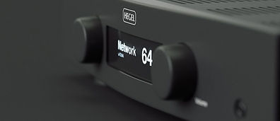 click here for Hegel amplifiers,