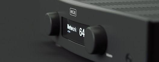 Hegel hi-fi amplifiers