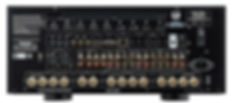 rear panel of the Rotel RAP1580,
