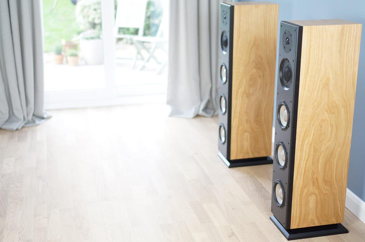 Ophidian P3 Evolution loudspeakers,