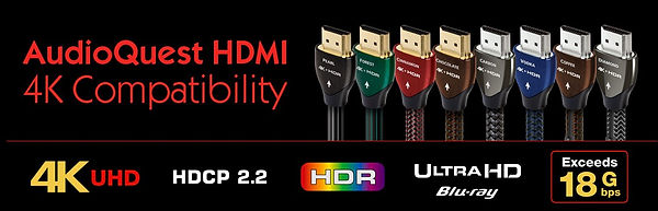 AudiQuest HDMI specifications,