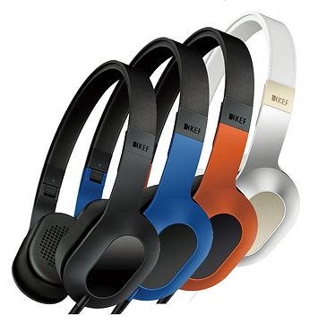 KEF M400 hi-fi headphones at the little audio company