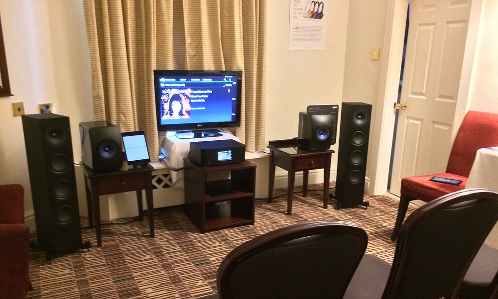 KEF LS50 Wireless at the Home HiFi Show in Harrogate