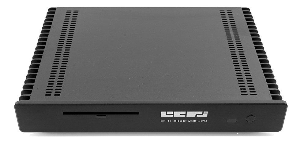 432 EVO Aeon music server in black,