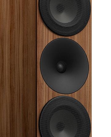 Amphion waveguide, amphion titanium HF unit, amphion tweeter, amphion argon 7LS speakers,