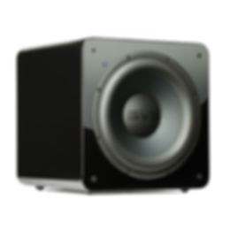 SVS SB2000 home theatre subwoofer in gloss black,